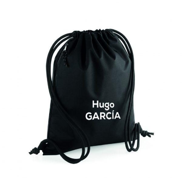 mochila de cuerdas personalizable negro