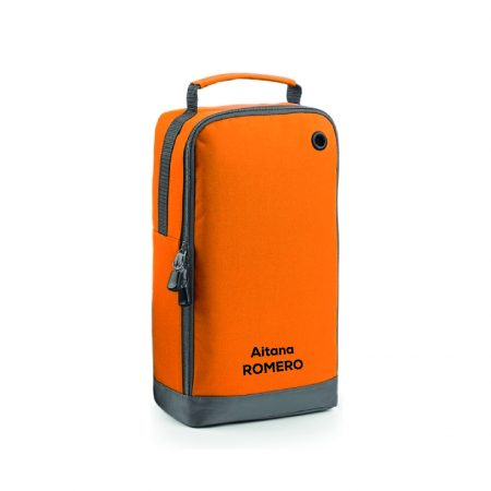 Bolsa calzado personalizable naranja