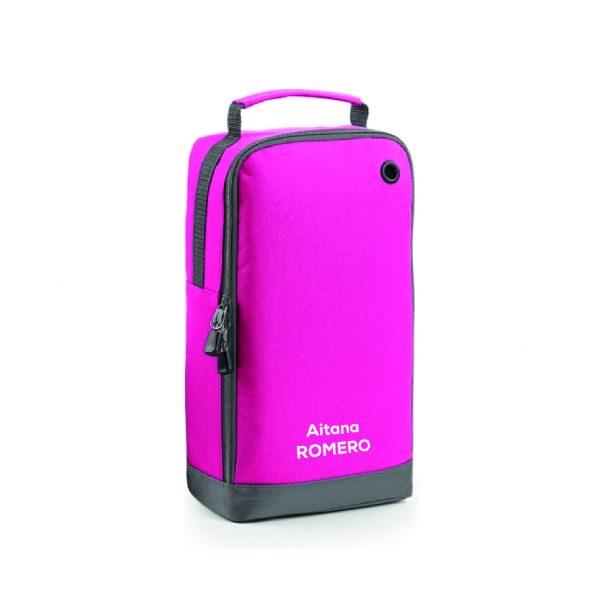 Bolsa calzado personalizable rosa