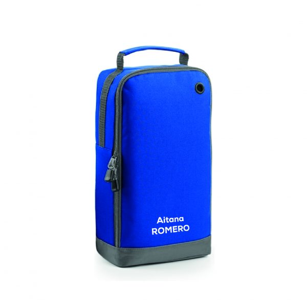 Bolsa calzado personalizable azul