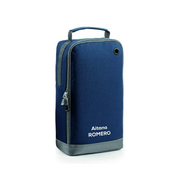 Bolsa calzado personalizable azul oscuro