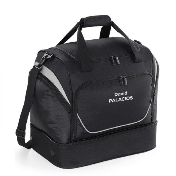 Bolsa de viaje personalizable Negro