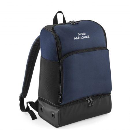 mochila corredor azul oscuro