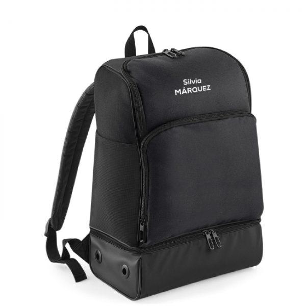 mochila corredor negro